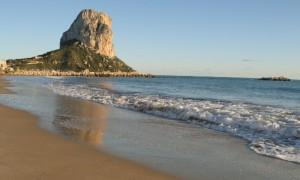 Calpe en la Costa Blanca (Spain)