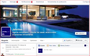 Facebook Jetvillas Spain