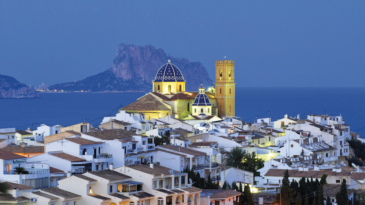 Altea en la Costa Blanca