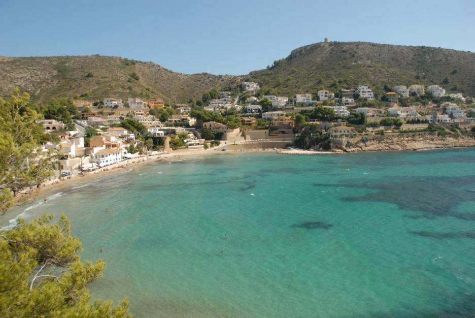 Playa de El Portet - Foto de Turismo Teulada-Moraira