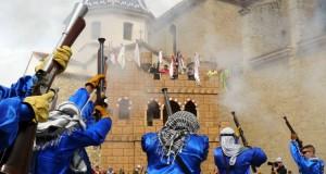 Fiestas de Moros y Cristianos en Altea. Foto de Miguel Llinares en alicanteout.com