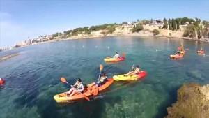 Kayak en Moraira, Benissa y Calpe