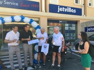 Tour de Calpe Peter Patock & Norbert Patock mit Jetvillas.com