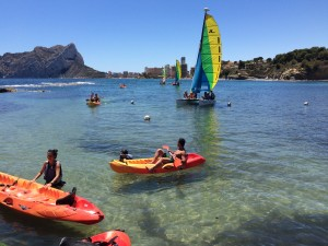 Kayak y Vela en Calpe